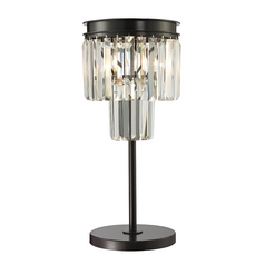 Dimond Lighting Palacial Oil Rubbed Bronze Table Lamp