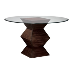 Sterling Lighting Zebrano Accent Table