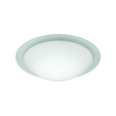 Flushmount Light Frosted Glass by Besa Lighting