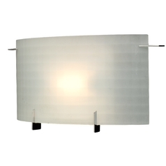 Design Classics Lighting Single-Light Frosted Sconce 1772-1