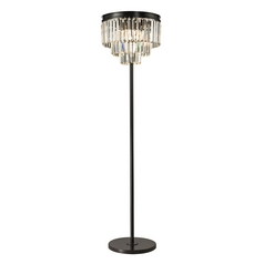 Dimond Lighting Palacial Oil Rubbed Bronze Floor Lamp