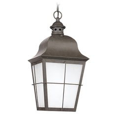 Sea Gull Lighting Chatham Oxidized Bronze LED Outdoor Hanging Light