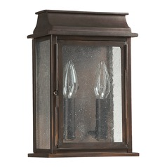 Capital Lighting Bolton Old Bronze Outdoor Wall Light