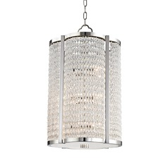 Hudson Valley Lighting Ballston Aged Brass Pendant Light