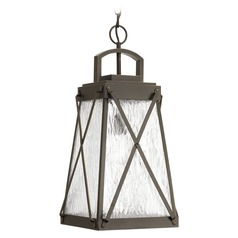 Progress Lighting Creighton Antique Bronze Outdoor Hanging Light