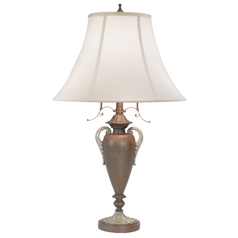 Design Classics Egyptian Urn Table Lamp With Shade 6595-38 / SH7251