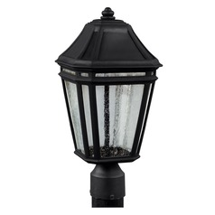 Feiss Lighting Londontowne Black LED Post Light