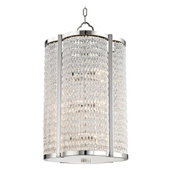 Hudson Valley Lighting Ballston Polished Nickel Pendant Light