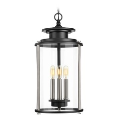 Progress Lighting Squire Black Outdoor Hanging Light