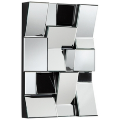 Kings Piece Rectangle 22.5-Inch Mirror