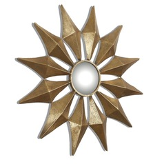 Uttermost Navia Gold Starburst Mirror