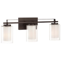 Minka Parsons Studio Smoked Iron Bathroom Light