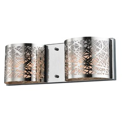 Elk Lighting Ventor Polished Chrome Bathroom Light