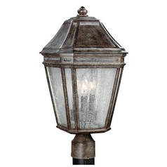 Feiss Lighting Londontowne Weathered Chestnut Post Light