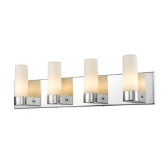 Golden Lighting Cilia Chrome Bathroom Light