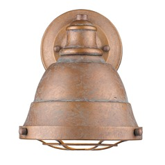 Bartlett CP 1 Light Bath Vanity in Copper Patina