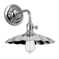 Heirloom Polished Nickel Sconce