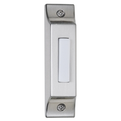 Craftmade Lighting BSCB-PW Lighted Surface Mount Doorbell Button