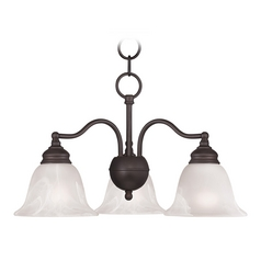 Livex Lighting Essex Bronze Mini-Chandelier