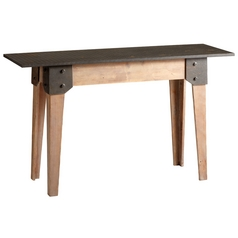 Cyan Design Mesa Raw Iron & Natural Wood Table