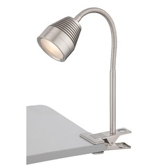 Lamp Shade with Clip-On Lamp Assembly