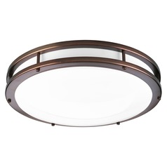 Progress Lighting LED Ctc Comm Urban Bronze LED Flushmount Light