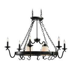 Carman Oil Rubbed Bronze Chandelier by Kenroy Home