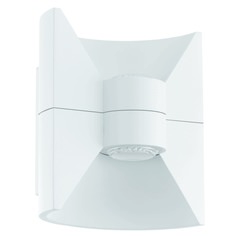 Eglo Redondo White LED Outdoor Wall Light