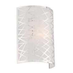 Lite Source Edric Chrome Sconce