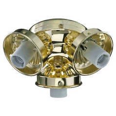 Quorum Lighting Polished Brass Fan Light Kit