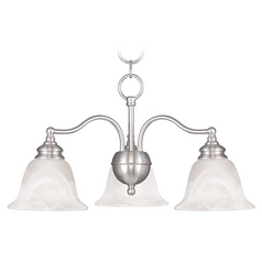 Livex Lighting Essex Brushed Nickel Mini-Chandelier