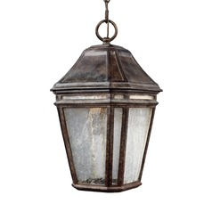 Feiss Lighting Londontowne Weathered Chestnut LED Outdoor Hanging Light