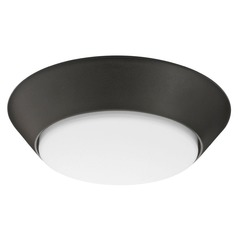Lithonia Lighting Textured White LED Flushmount Light