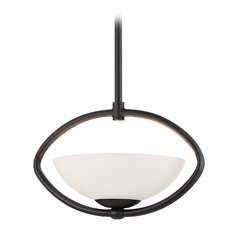 Dolan Designs Lighting Single-Light Pendant with Oval Cutout 2901-78
