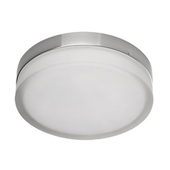 Kuzco Chrome LED Flushmount Light