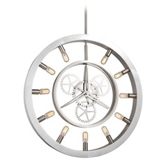 Elk Lighting Chronology Brushed Nickel Pendant Light