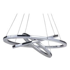 Craftmade Lighting Anello Chrome LED Pendant Light