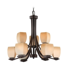 Lite Source Lighting Orazio Bronze Chandelier