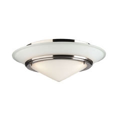 Forecast Lighting Three-Light Flushmount Ceiling Light F613136