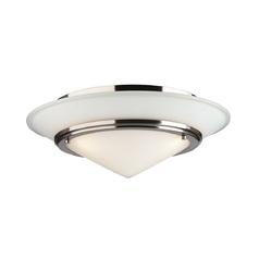 Forecast Lighting Three-Light Flushmount Ceiling Light F613136