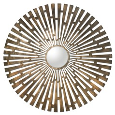 Uttermost Tremeca Brass Starburst Mirror