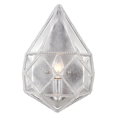 Feiss Lighting Marquise Silver Sconce