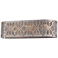 Minka Lucero - Jessica Mcclintock Home Florentine Silver Bathroom Light