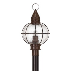 Hinkley Lighting Capecod Sienna Bronze LED Post Light