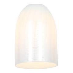 Access Lighting Wicker White Bowl / Dome 23118-WWHT