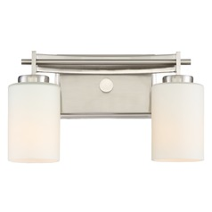 Quoizel Lighting Taylor Brushed Nickel Bathroom Light