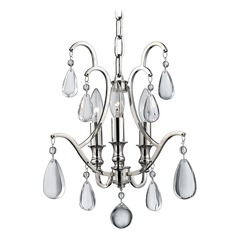 Hudson Valley Lighting Crawford Polished Nickel Chandelier