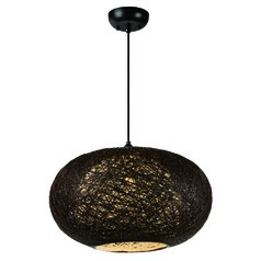 Maxim Lighting Bali Pendant Light with Oval Shade