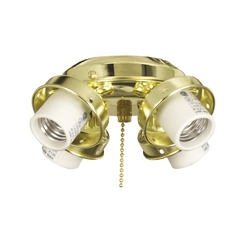 Light Kit in Bright Brass Finish