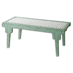 Uttermost Pegaso Wood Bench
